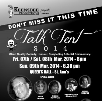 TalkTent Flyer