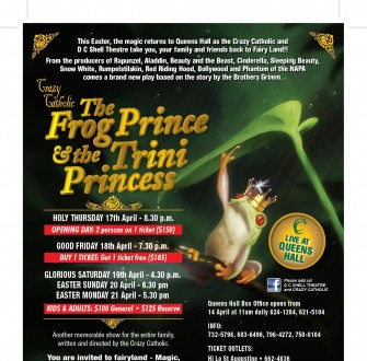Crazy Catholic Frog Prince Flyer