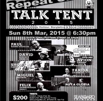 Talk tent part 2