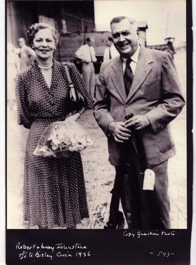 Helen May and Robert Johnstone