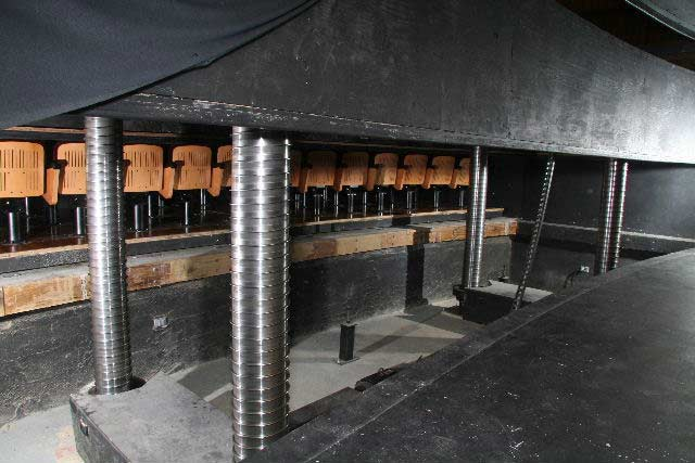 Spiral Orchestra Pit - Queen's Hall  The home of the performing arts