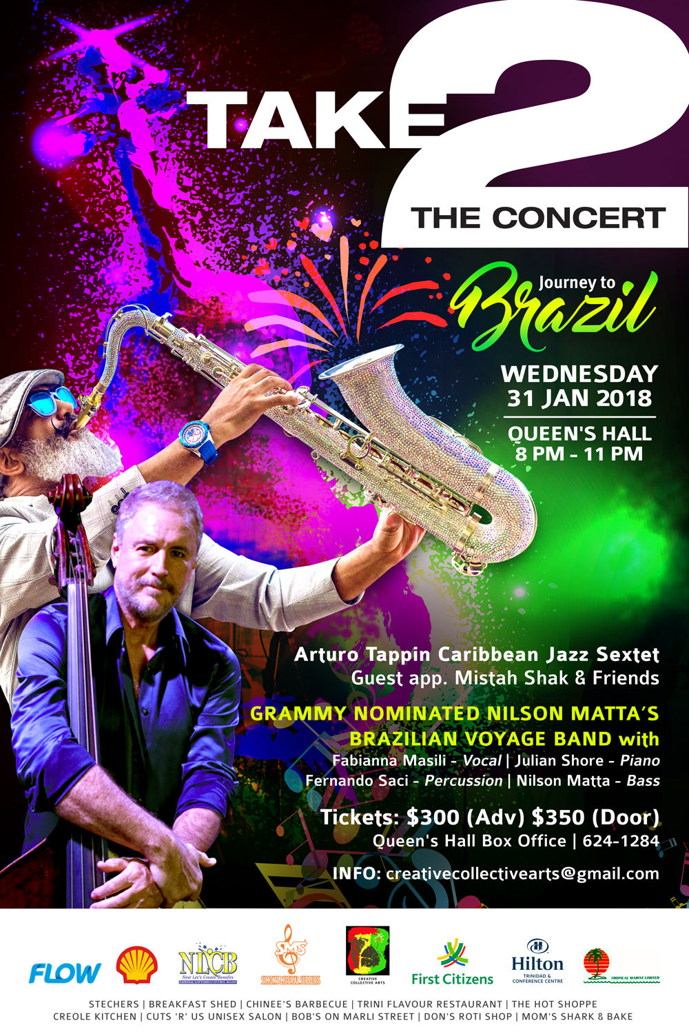 Take 2 - Journey to Brazil - Queens Hall